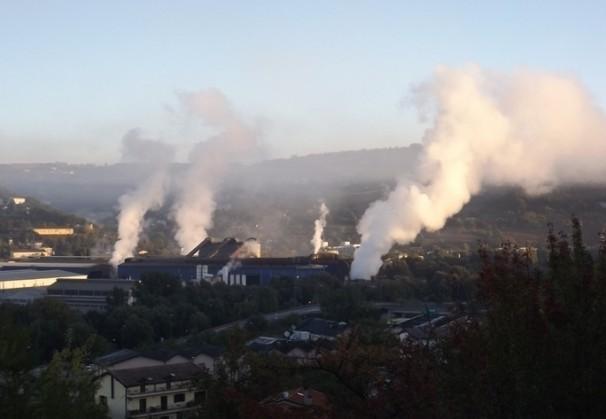 L'inquinamento altalenante a Potenza