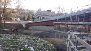ottobre - ripresa lavori parco fluviale