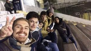 Allo stadio Viviani